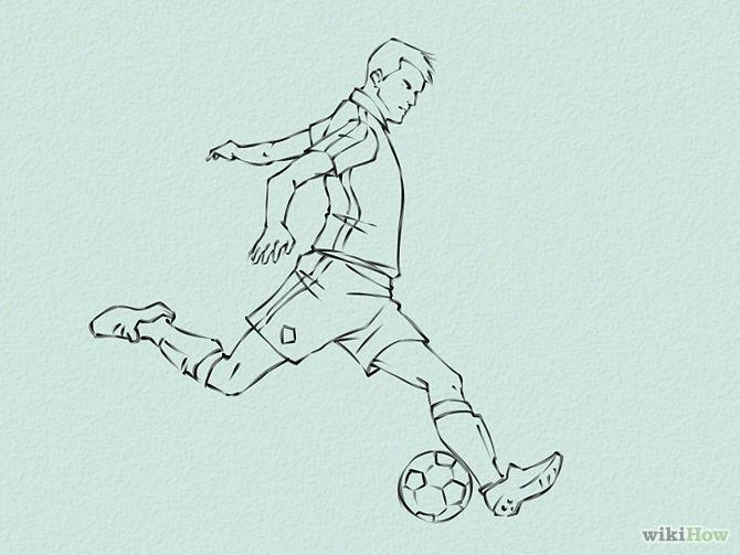 HowtoDrawSoccer Draw Soccer