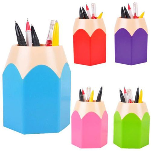 Makeup-Brush-Vase-Pencil-Pot-Pen-Holder-Cute-Stationery-Desk-Container-Storage