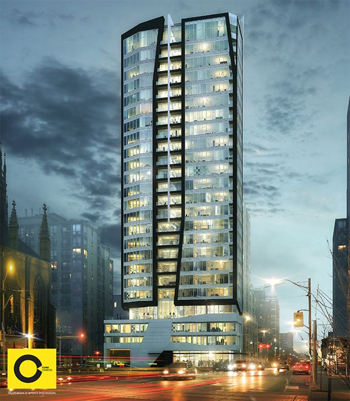 Condo Living Design Ideas: Downtown #Toronto CORE Condo #Highrise > Great