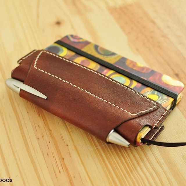 Leather Slimfold Wallet - Little Brown Bird by VIDA VIDA KXAXodpo