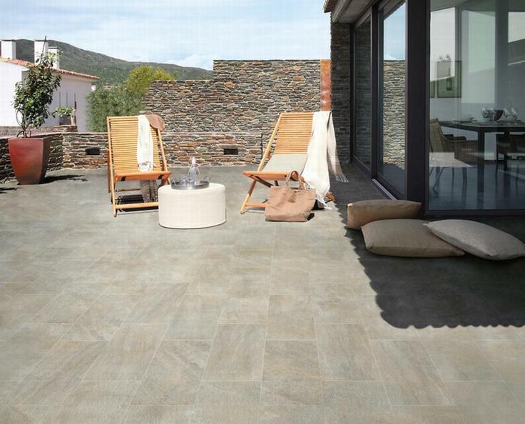 Oltre 25 fantastiche idee su pavimenti per esterni su - Resina su piastrelle esistenti ...