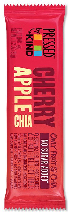 Pressed by KIND™ Cherry Apple Chia fruit bar