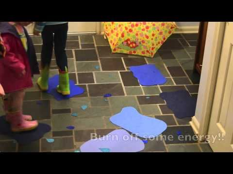 {indoor puddle jumping} How cool is this?!?
