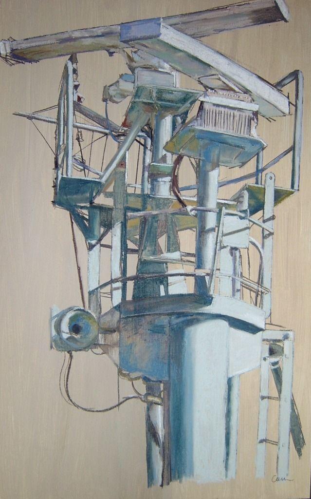 Patricia Cain Fergusons No.9b Pastel 76 x 122cm 2008