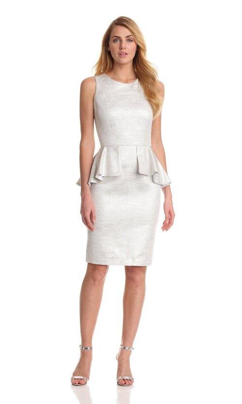 Helene Berman Peplum Dress