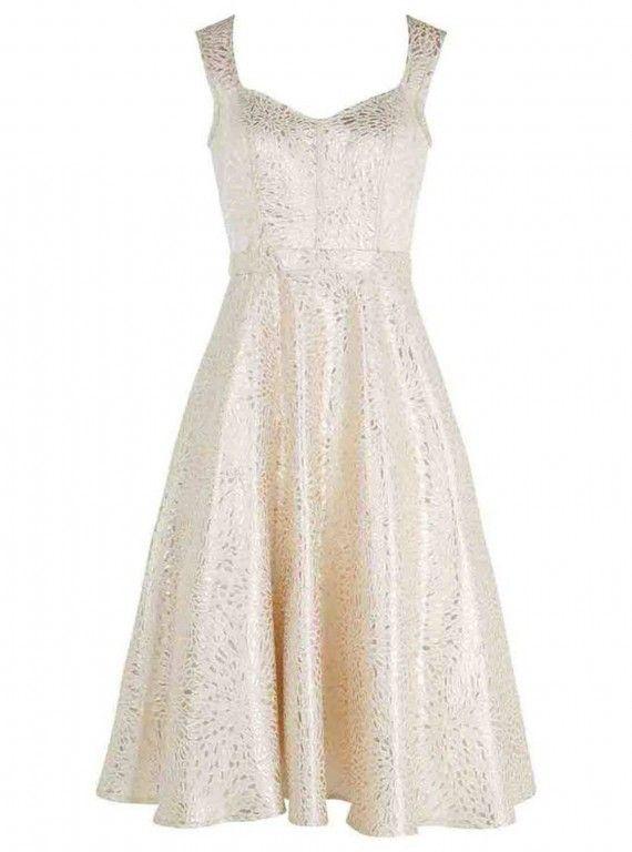 50s Style Wedding Dress, £290, Not On The Highstreet