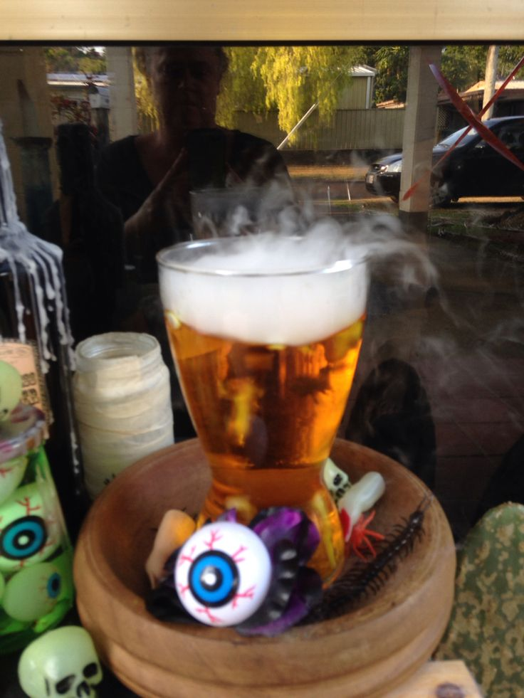 Dry ice and Halloween, match made in heaven