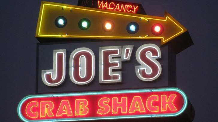Joe's Crab Shack Is the First Major Chain to Drop Tipping