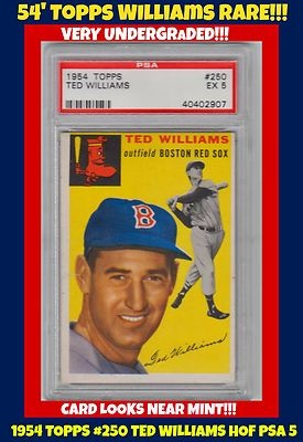 Electronics Cars Fashion Collectibles More Ebay Baseball Cards Ted Williams Old Baseball Cards