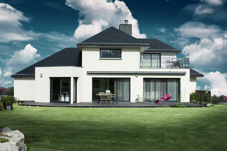 idée maison | Constructeur maison Bretagne : construction maison sur mesure à Saint ...