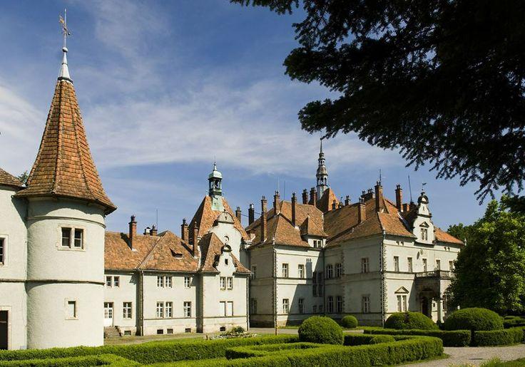 Kastélyok a Kárpát-medencében - Schönborn-kastély - Beregvár - Kárpátalja