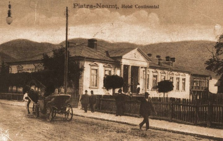Piatra Neamt - Hotel Continental - 1920