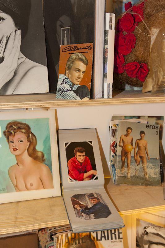 1950 - 1960, un aperçu des albums, peintures et photos, collection privée © Solo-Mâtine