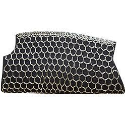 Fashionable Black Evening Clutch from Spice Art to Kolkata, West Bengal Rs. 1530 / $ 25.50