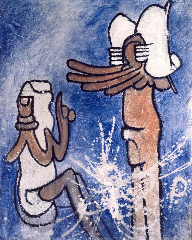 painting by Roberto Matta