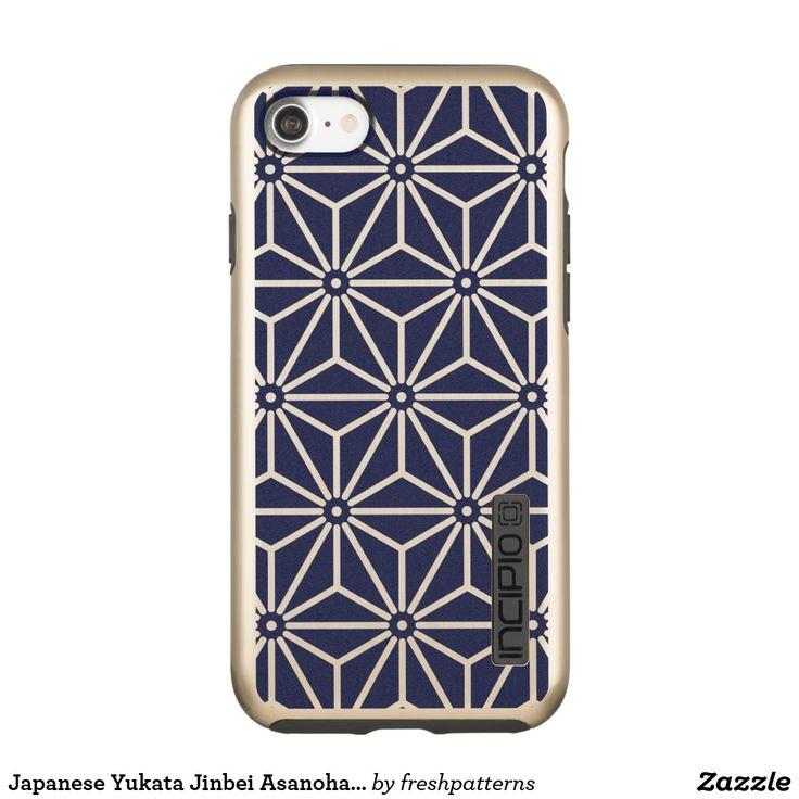 Japanese Yukata Jinbei Asanoha Navy blue