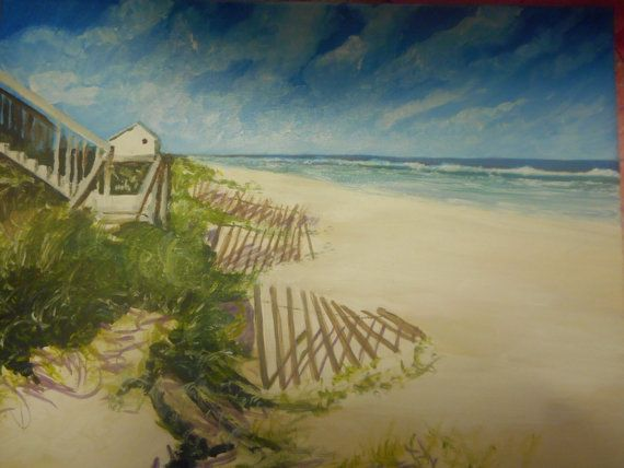 Myrtle Beach Oil Painting Original Artwork By MARVINSTUDIO On Etsy 3500 SOLD THANK YOU