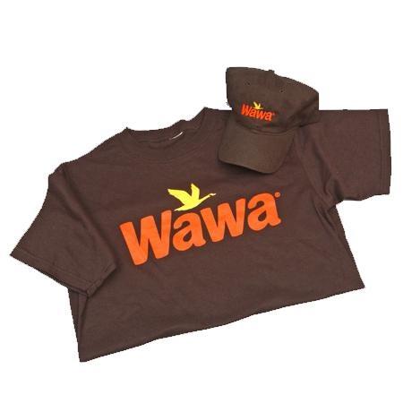 Wawa Black T shirt And Baseball Cap Combo H O N C