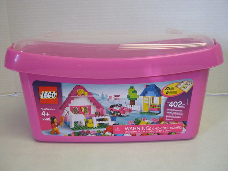 LEGO Bricks & More Large Pink Brick Box (5560) #LEGO