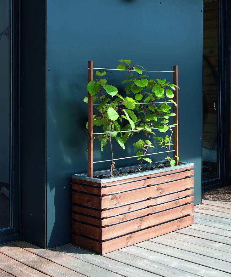 Jardiniere avec treillis bois 17 best ideas about - Jardiniere bois treillis ...