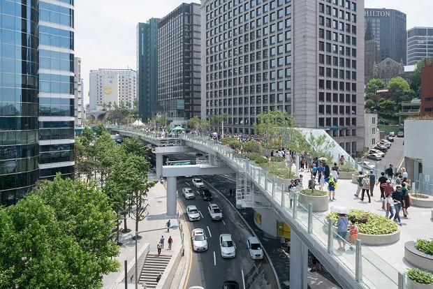 Zieleń ponad wszystkim - Inspirowani Naturą | Seoullo 7017 bridge park