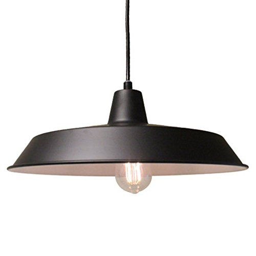 Industrial Metal Blue Hanging Pendant Light 120v Commercial Barn