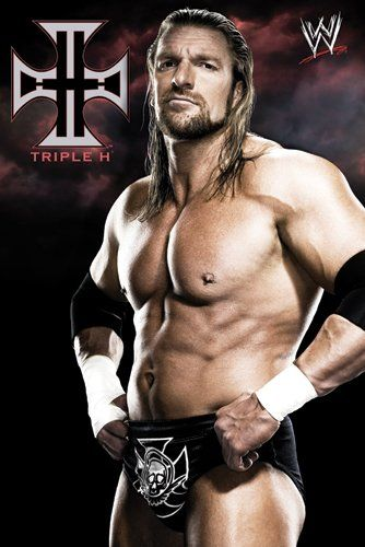 WWE/WWF Posters: WWE – Triple H 09 Poster – 91.5x61cm  I have been in love with him since I started watching wrestling.....super sexy...or was...not so much nemore