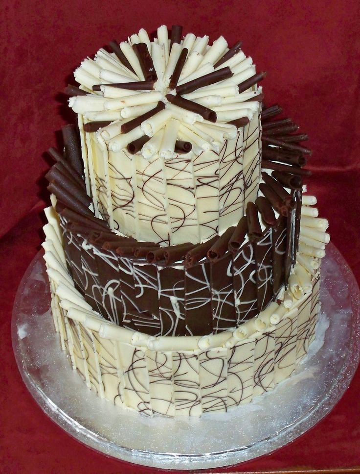 Chocolate Cake Images Black And White