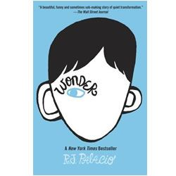 Wonder novel - By R J Palacio. I won't describe what I look like. Whatever you're thinking, it's probably worse.  August Pullman was born with a facial difference that, up until now, has prevented him from going to a mainstream school. Starting 5th grade at Beecher Prep, he wants nothing more than to be treated as an ordinary kid—but his new classmates can't get past Auggie's extraordinary face.