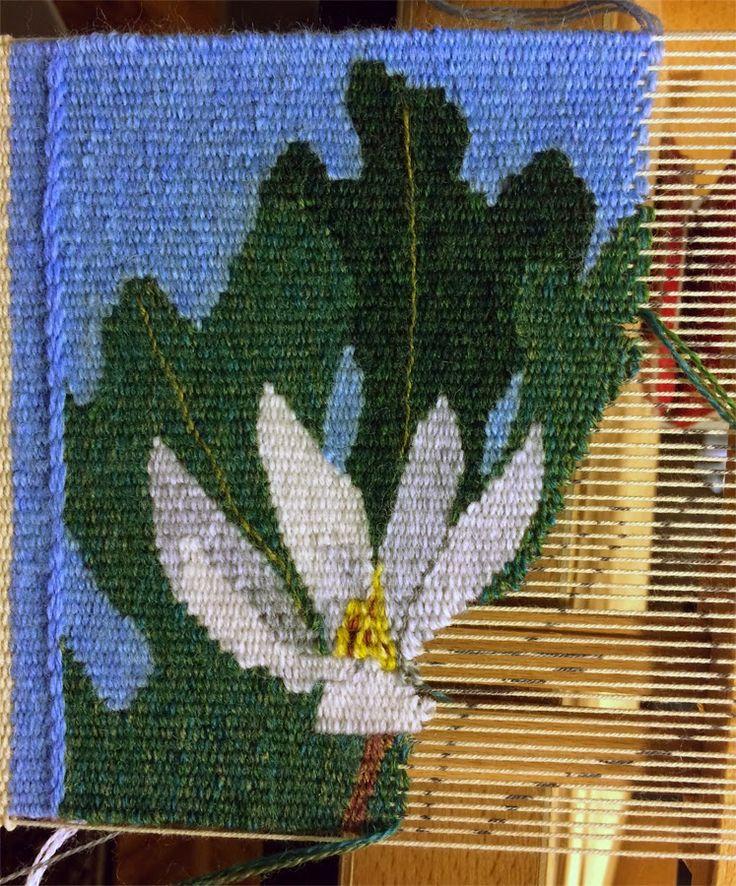 Sampling for tapestry weaving