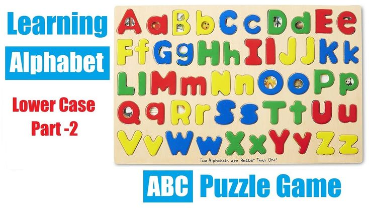 Learning Alphabets for Kids with ABC Matching Puzzle Game ( Lower Case / Small Letters)...  Learn the LOWER CASE alphabet with this fun wooden ABC matching puzzle game. Arham is solving lower case (small) letters in this video and there is an another learning alphabet for kids video which covers upper case letters.  Lower Case ABC Matching Puzzle helps with:  ✅ Fine Motor Skills: Promotes dexterity, hand/eye coordination, and manipulation. ✅ Problem Solving: Introduces logic, matching…