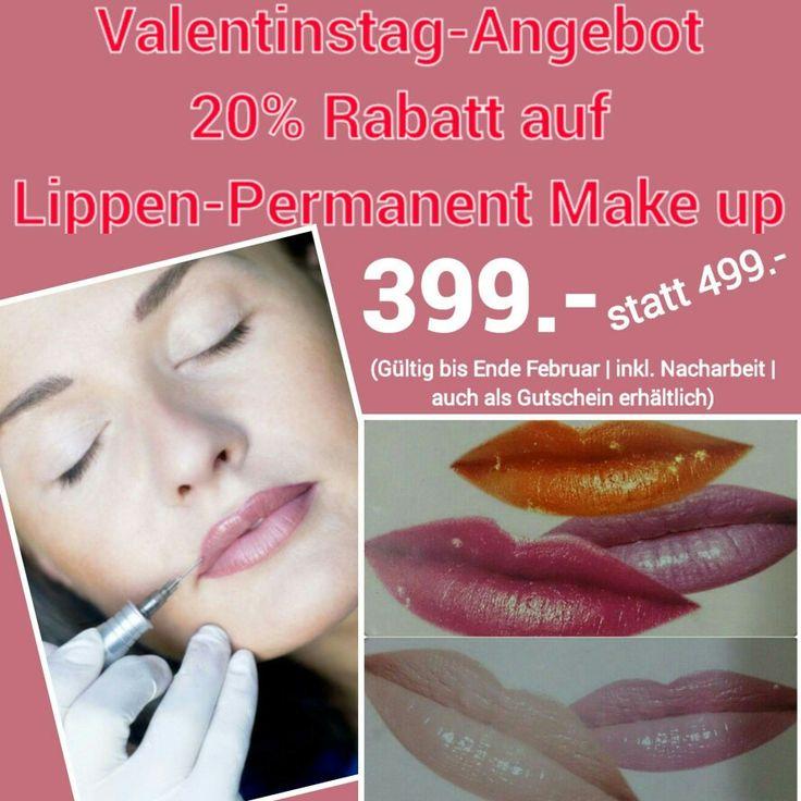 sch ne lippen mit permanent make up permanentmakeuplips valentinsday. Black Bedroom Furniture Sets. Home Design Ideas