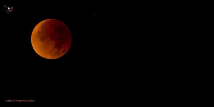 Eclipse totale de Lune. 28/09/2015