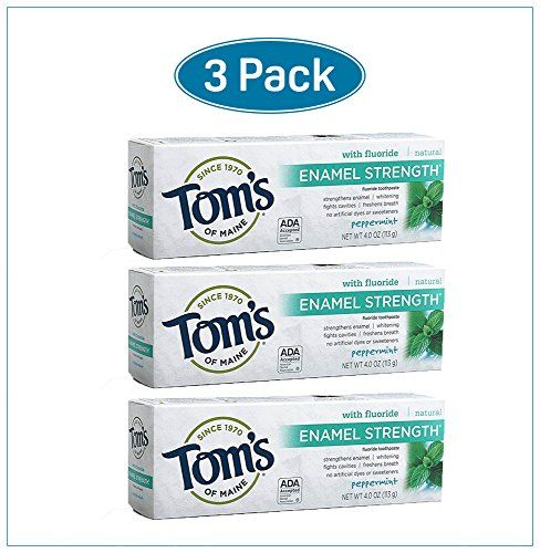#Toms of #Maine #Enamel #Strength #Natural #Toothpaste #Peppermint #4 #Ounce #Pack of #3 #Natural #Toothpaste with Fluoride Derived From The #Natural Mineral Fluorspar for #Enamel Strengthening Strengthens #Enamel, Fights Cavities, Whitens Teeth & Freshens Breath No Artificial Dyes, Sweeteners or Preservatives https://travel.boutiquecloset.com/product/toms-of-maine-enamel-strength-natural-toothpaste-peppermint-4-ounce-pack-of-3/