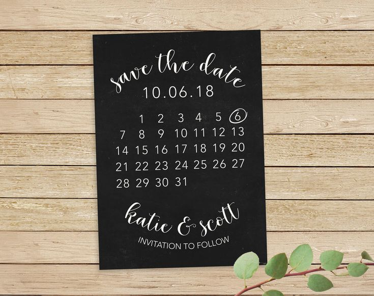 Excited to share the latest addition to my #etsy shop: Save the Date Calendar, Save The Date Calendar Printable, Save The Date Card, Wedding Save The Date, Calendar Save The Date