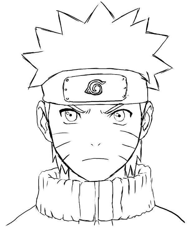 Dessin Naruto Facile