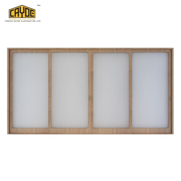 Sliding Aluminium Jamb Double Glass Window