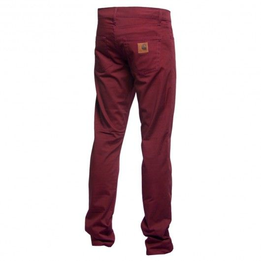 CARHARTT Rebel Pant bordeaux rigid Huron pantalon en toile stretch super slim fit 89,00 € #carhartt #carharttwip #carharttworkinprogress #workinprogress #skate #skateboard #skateboarding #streetshop #skateshop @playskateshop