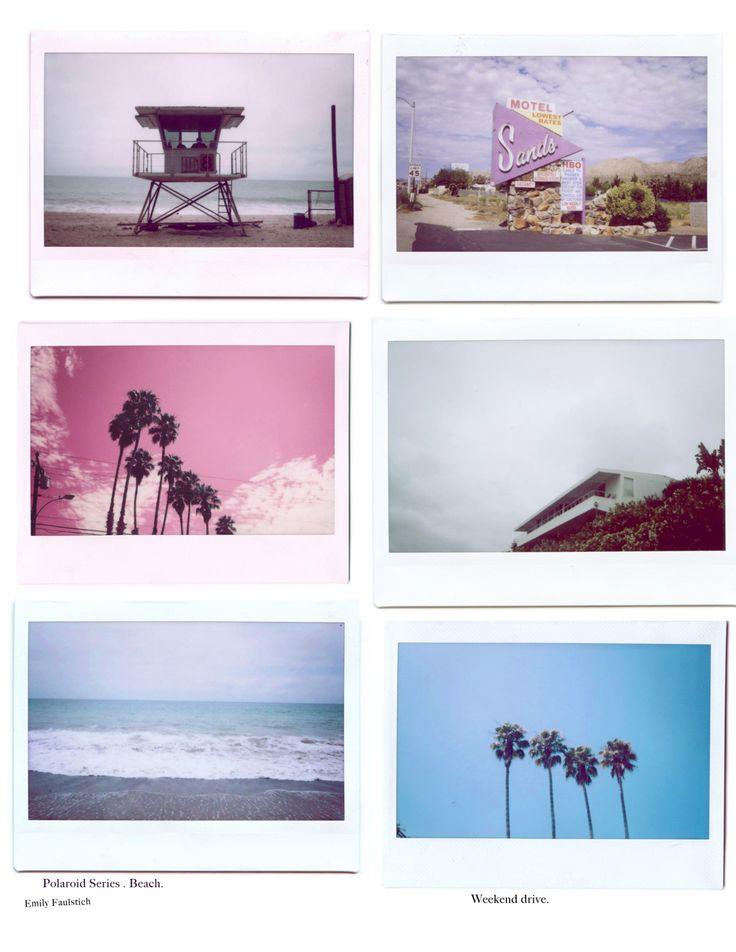 Beach Polaroids, Emily Faulstich.   Hawaiian Coconut ...