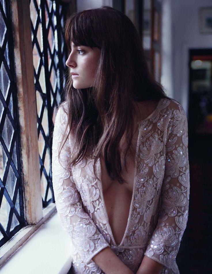 Crystals & sequins (Millie Brady by Damon Heath for Tatler UK July 2015)