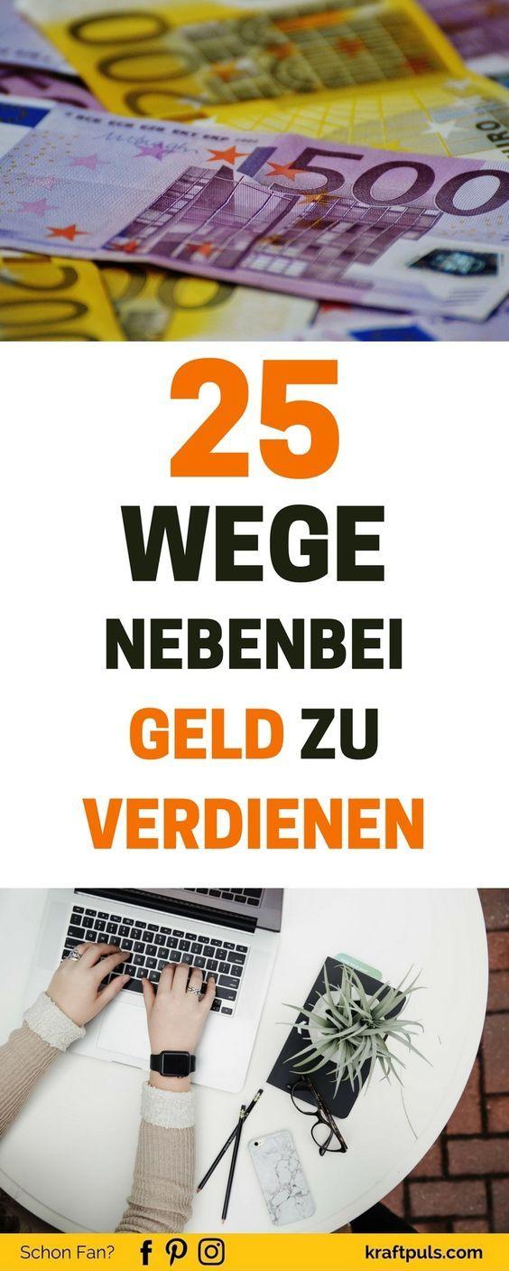 25 Wege nebenbei Geld zu verdienen 4.57/5 (98) – Heike Wagner