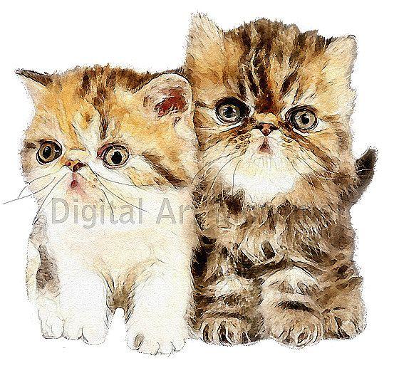 Nursery Image,Kitten Image, Cute Kittens, Kittens Cutout, Kittens ,Transfer Template,Kids Room Decor,Nursery Decor,Wall Art,Kitten Template by DigitalArtMovement on Etsy