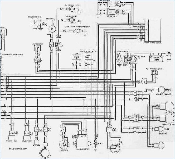 Wiring Diagram For A Yamaha Blaster In 2020