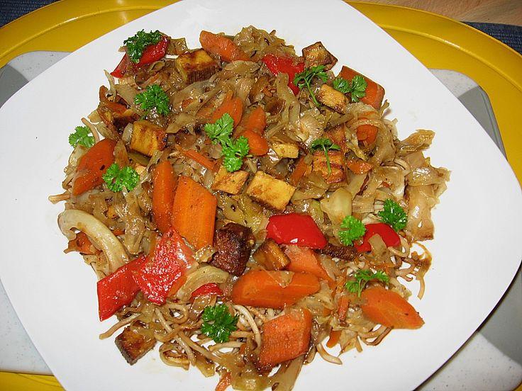 Illes schlankes Schichtkraut mit geräuchertem Tofu aus dem Wok, ein gutes Rezept aus der Kategorie Dünsten. Bewertungen: 10. Durchschnitt: Ø 3,8.
