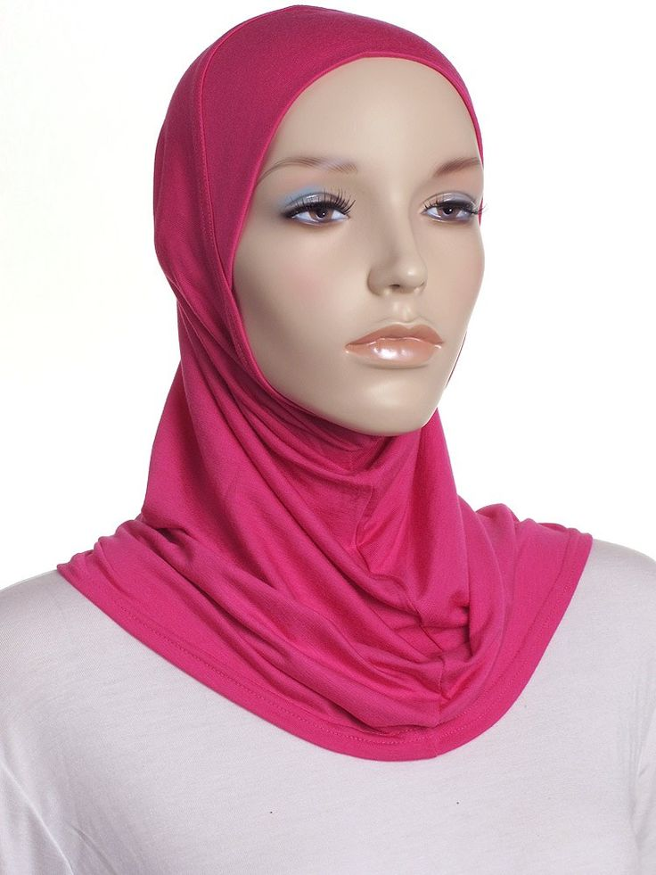 Hot Pink Mini 1 Pce Al Amira Hijab - Al Amiras » Hijabs Direct