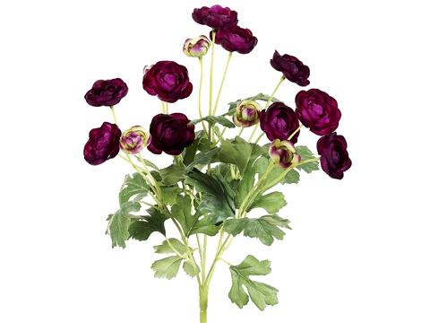 Dark purple asst ranunculus. $6.49: Asst Ranunculus, Purple Asst, Silk Wedding Flowers, Dark Purple, Fall Wedding