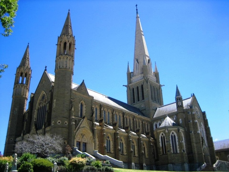 Sacred Heart Cathedral, Bendigo, Victoria, Australia.