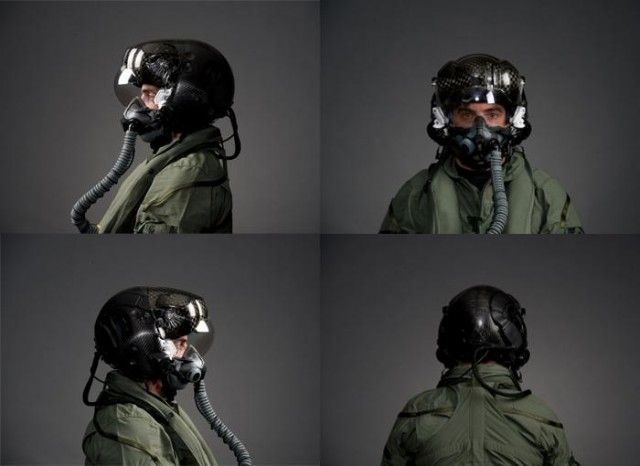 New helmet for F-35 allows pilot to see through plane ...