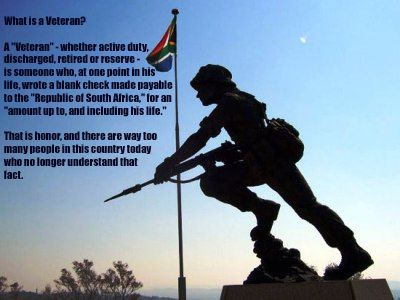 What is an SADF Veteran?