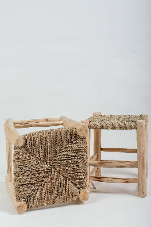 Wooden Stool by GREYROOM